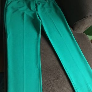NWOT The Limited Kelly Green Pants Sz 12